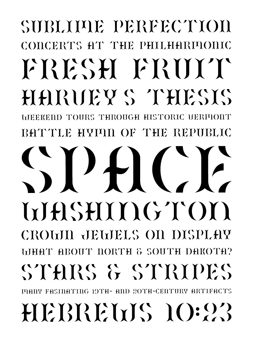 Old Glory Typeface