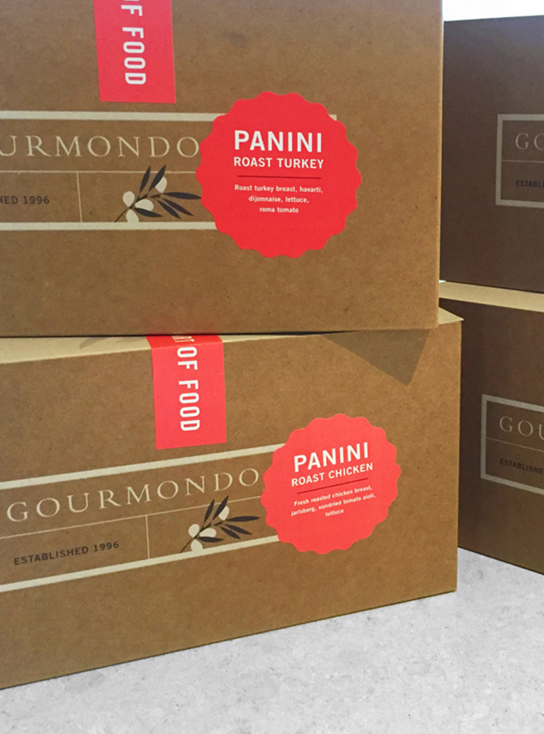 Gourmondo Packaging