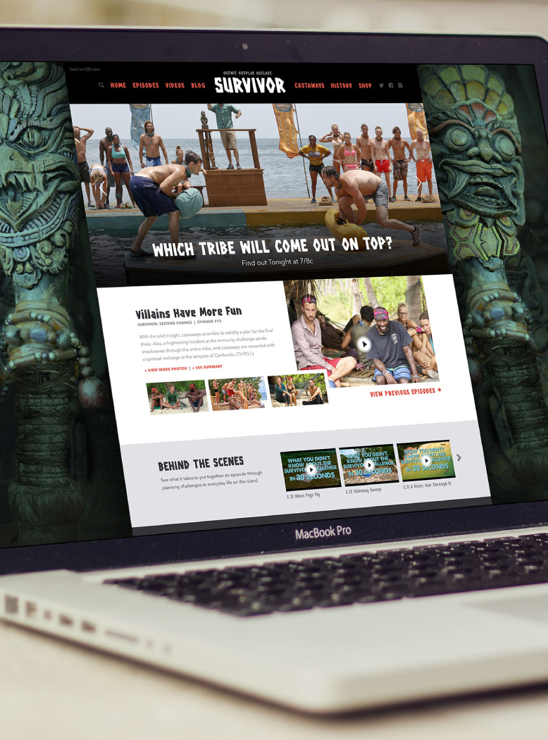 Survivor Website