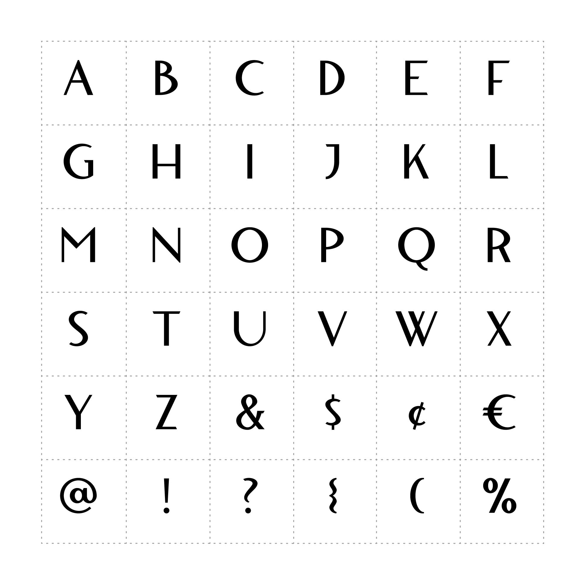 Blacklisted Typeface